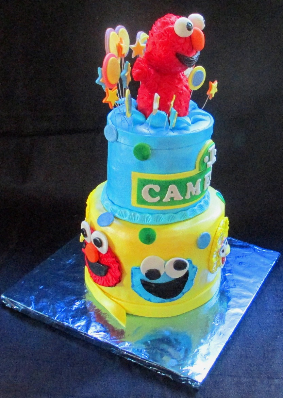 Sesame Street Fondant Cake