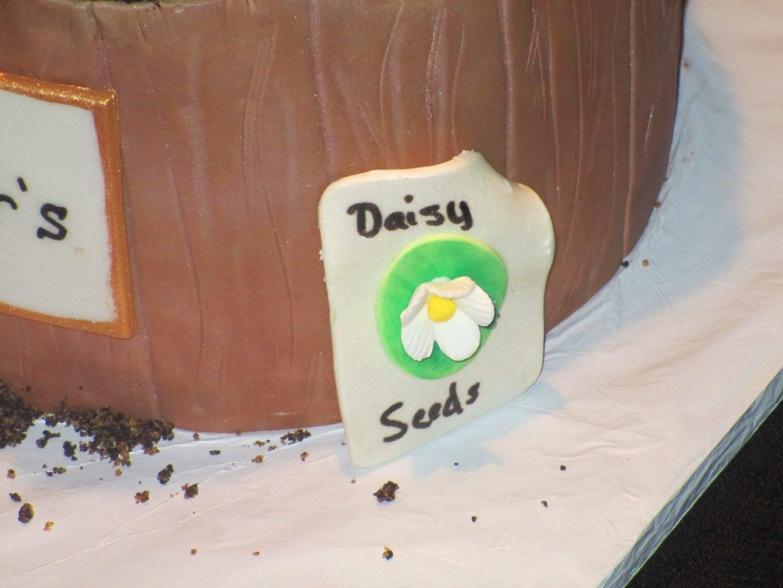Bj S Cake Decoration Packet : EdibleGumpasteSeedPacketDecorationCloseUp