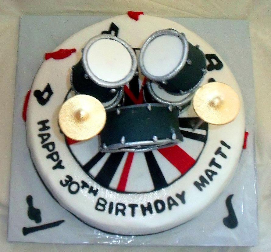 Drum Cake Ideas