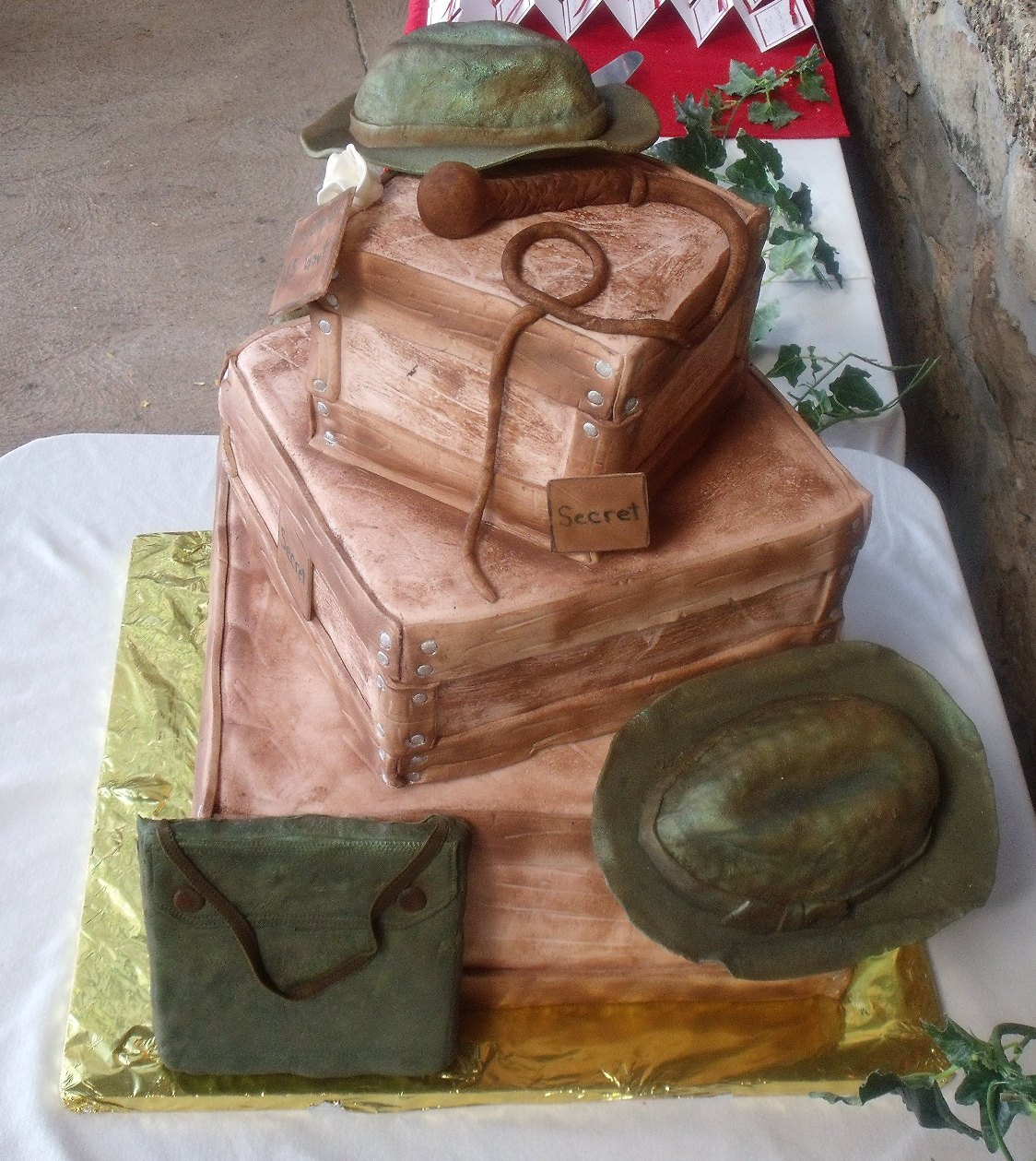 Indiana Jones Cake Images