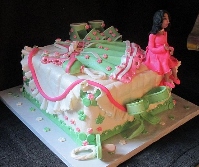 Baby Clothes Cake