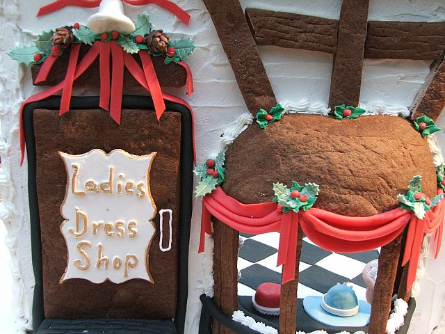 2008 George Eastman House Gingerbread Ladies Shop Door Trim