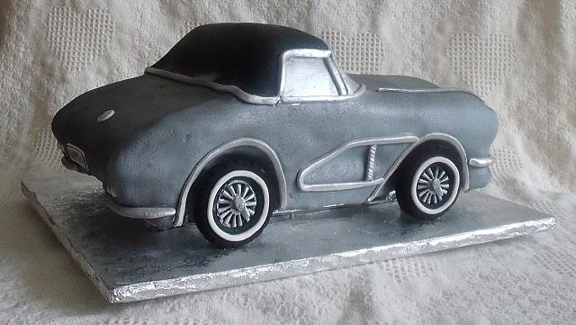 1962 Corvette Sports Car Cake side 2