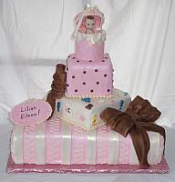 Baby Shower Tiered cake