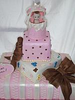 Baby Shower Tiered cake top tiers