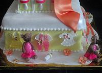 Edible Baby Clothes And Baby Bears In Tutu Close Up