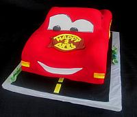 Cars Children Birthday Cake Main