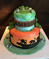 Lion King Theme Cake For Jamisen