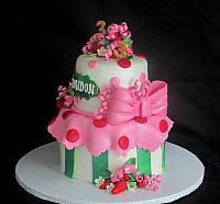 StrawberryShortcakeCharacterCakeRightSide