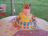 Baby Shower Whimsical Cake
