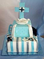 First Communion For Boy Cake