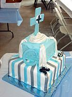 First Communion For Boy Cake side2 view