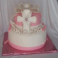 Christening Cake For Savanna Dauria Main View