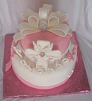 Christening Cake For Savanna Dauria Top View