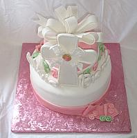 Confirmation Cake For Girl
