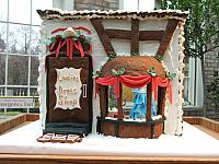 2008 George Eastman House gingerbread creation called Ladies Dress Shop