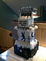 Art Deco - Fred Astaire - Puttin On The Ritz - Birthday Cake