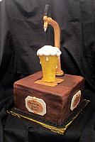 Beer Tap Cake for Dan Gendreau