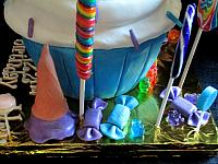 CupcakeLargeCandyIceCreamConeDecorationCloseUp