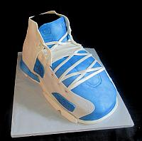 Giant Sports Shoe Air Jordan Carved Cake