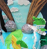 End Of World Mayan Cake Asteroid Close Up
