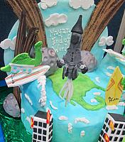 End Of World 2012 Mayan Cake View 4