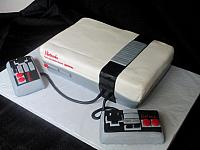 Nintendo Entertainment System Cake