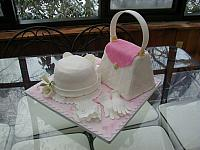 Purse, Hat, Gloves Fondant Cake