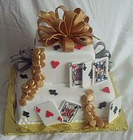 Poker Cake or Playing Card Cake