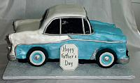 1956 Chevy Bel Air Car Cake main view