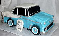 1956 Chevy Bel Air Car Cake view 1