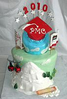 Multitheme Graduation Cake for Sports main view