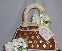 LouisVuittonPurseFondantDecoration