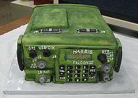 Military Radio Fondant Cake main view