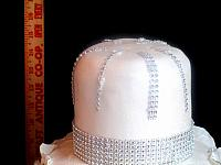 Anniversary25WhiteSilverCakeHeight-3Tiers-5-Inches-Each